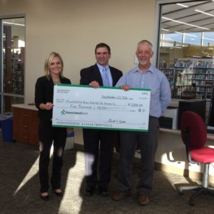 Associate Bank makes Donation