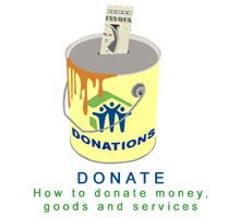 Donate paint can